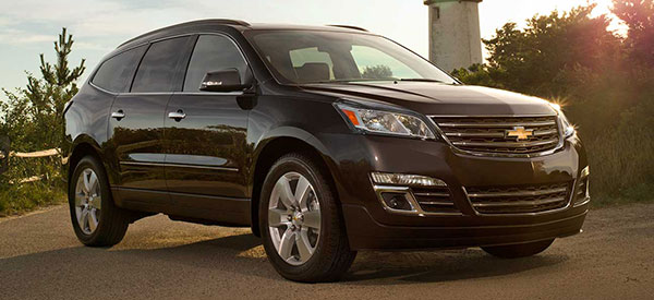 new 2014 chevrolet traverse model convenience safety eugene or. Black Bedroom Furniture Sets. Home Design Ideas