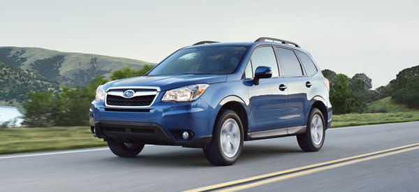 2014 subaru forester vs honda cr v model comparison for Honda crv vs subaru forester